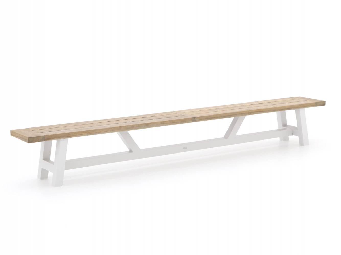 grote houten picknickbank