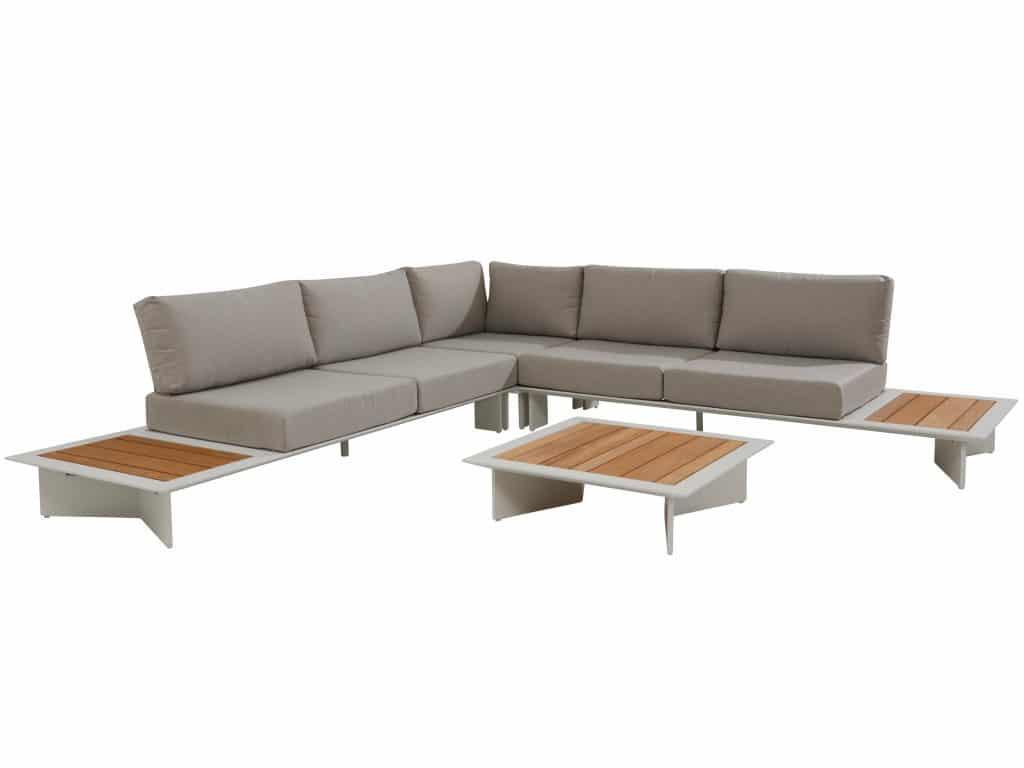 Aluminium loungeset