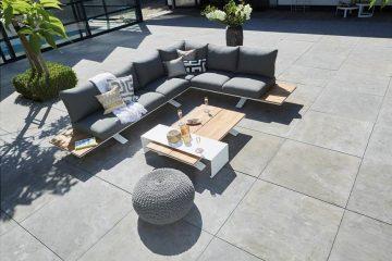 loungeset aluminium