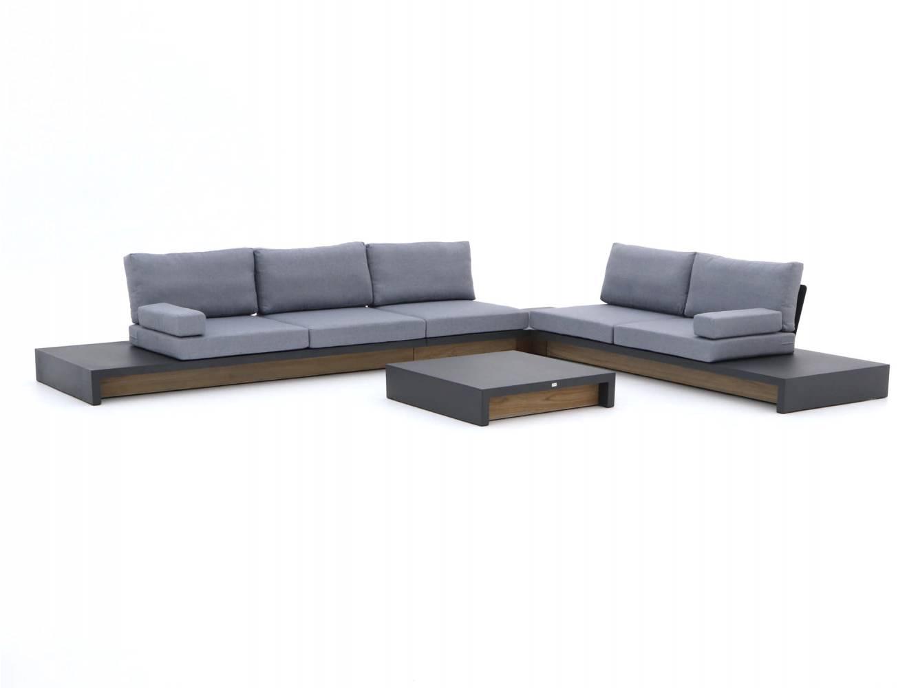 loungeset van aluminium