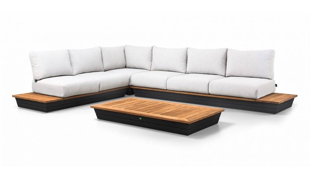 loungesets van aluminium