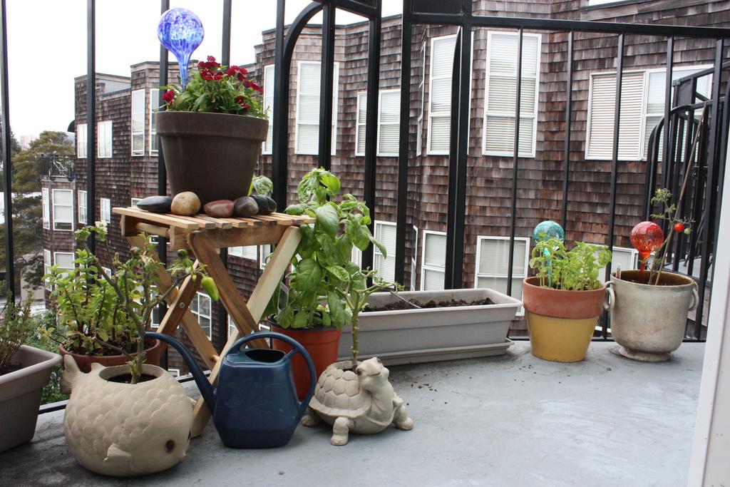 tuinieren op je balkon