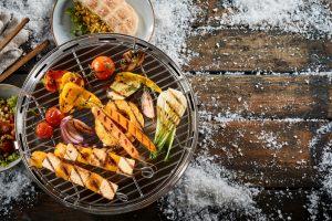 een gezellige winterbarbecue