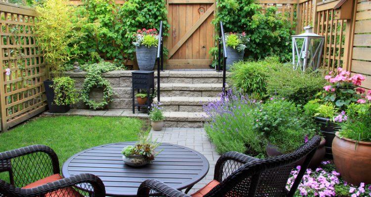 tuin groter laten lijken
